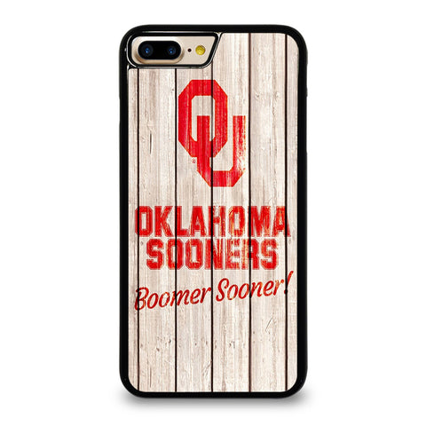 OKLAHOMA SOONERS WOODEN LOGO iPhone 7 / 8 Plus Case Cover