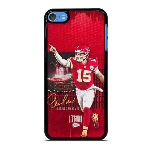 PATRICK MAHOMES KANSAS CITY CHIEFS-ipod-touch-7-case