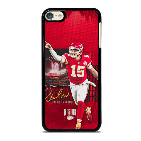 PATRICK MAHOMES KANSAS CITY CHIEFS iPod Touch 6 Case