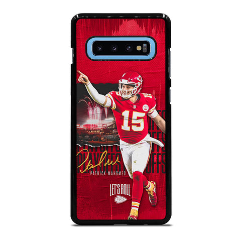 PATRICK MAHOMES KANSAS CITY CHIEFS Samsung Galaxy S10 Plus Case Cover