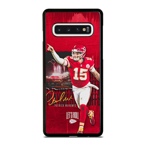 PATRICK MAHOMES KANSAS CITY CHIEFS Samsung Galaxy S10 Case Cover
