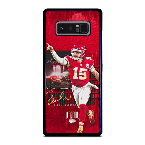 PATRICK MAHOMES KANSAS CITY CHIEFS Samsung Galaxy Note 8 Case Cover