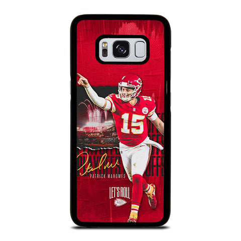 PATRICK MAHOMES KANSAS CITY CHIEFS Samsung Galaxy S8 Case Cover