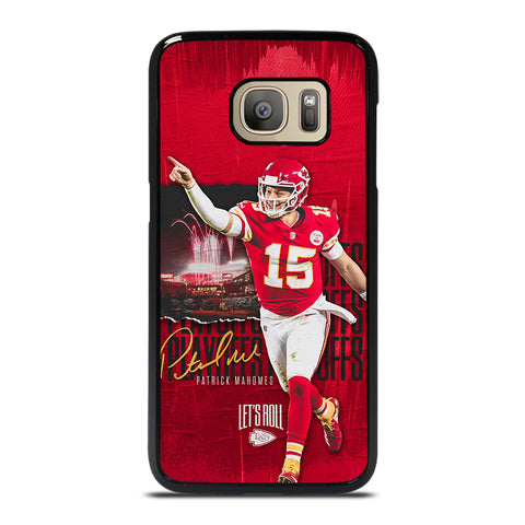 PATRICK MAHOMES KANSAS CITY CHIEFS Samsung Galaxy S7 Case Cover