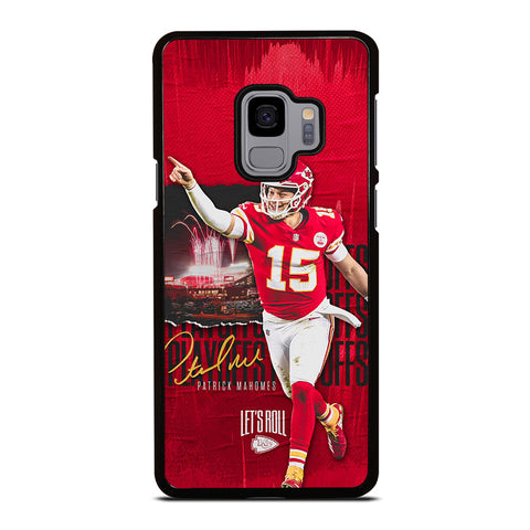 PATRICK MAHOMES KANSAS CITY CHIEFS Samsung Galaxy S9 Case Cover