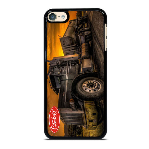 PETERBILT TRUCK BLACK iPod Touch 6 Case
