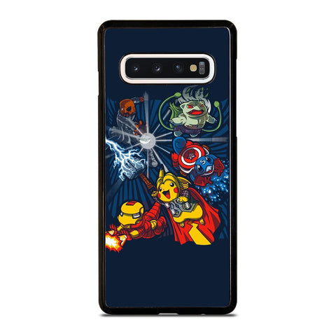 POKEMON AVENGERS CUTE amsung Galaxy S10 Case Cover