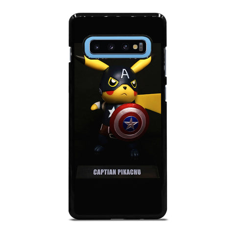 POKEMON CAPTAIN PIKACHU Samsung Galaxy S10 Plus Case Cover