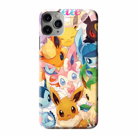 POKEMON EEVEELUTIONS iPhone 3D Case Cover