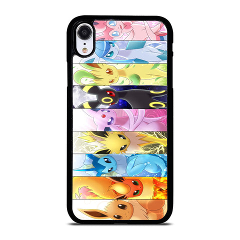 POKEMON ALL CHARACTER iPhone XR Case Cover