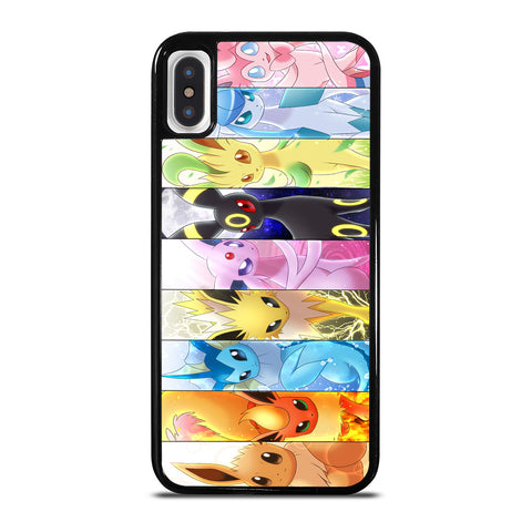 POKEMON ALL CHARACTER iPhone X / XS Case Cover