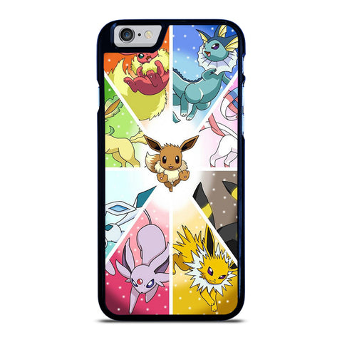 POKEMON ALL EEVEE iPhone 6 / 6S Case Cover