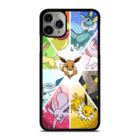 POKEMON ALL EEVEE iPhone 11 Pro Max Case Cover