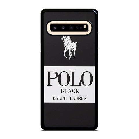 POLO RALPH LAUREN BLACK Samsung Galaxy S10 5G Case Cover