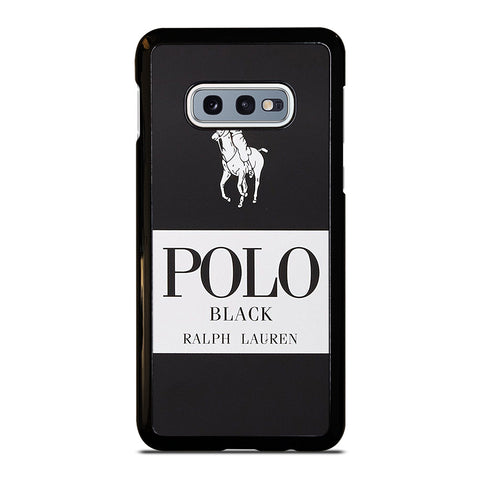 POLO RALPH LAUREN BLACK Samsung Galaxy S10e Case Cover