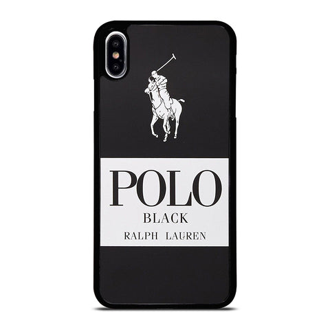 POLO RALPH LAUREN BLACK iPhone XS Max Case Cover