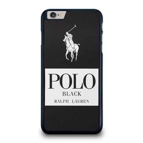 POLO RALPH LAUREN BLACK iPhone 6 / 6S Plus Case Cover