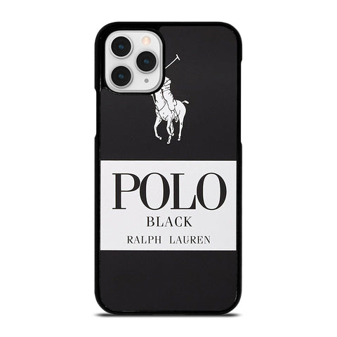POLO RALPH LAUREN BLACK iPhone 11 Pro Case Cover