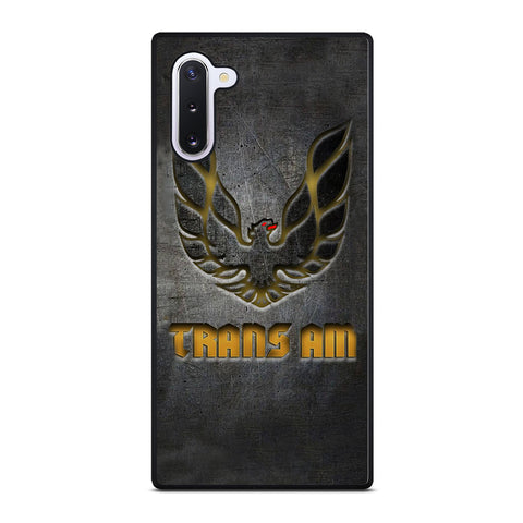 PONTIAC TRANS AM FIREBIRD SYMBOL Samsung Galaxy Note 10 Case Cover