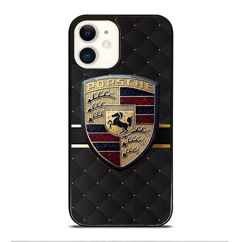 PORSCHE LOGO iPhone 12 Case Cover