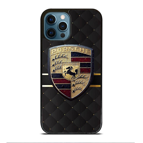 PORSCHE LOGO iPhone 12 Pro Max Case Cover
