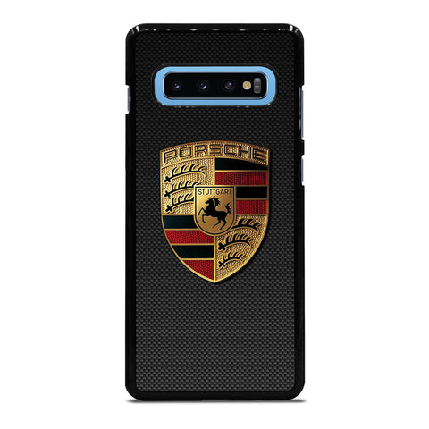 PORSCHE LOGO CARBON Samsung Galaxy S10 Plus Case Cover