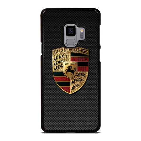 PORSCHE LOGO CARBON Samsung Galaxy S9 Case Cover