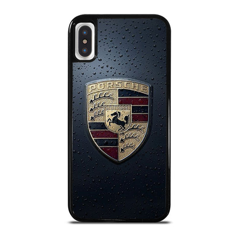 PORSCHE STUTTGART LOGO iPhone X / XS Case Cover