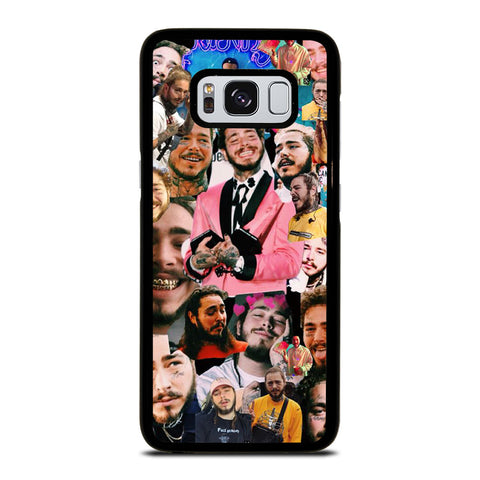 POST MALONE RAPPER COLLAGE Samsung Galaxy S8 Case Cover
