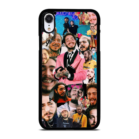 POST MALONE RAPPER COLLAGE iPhone XR Case Cover
