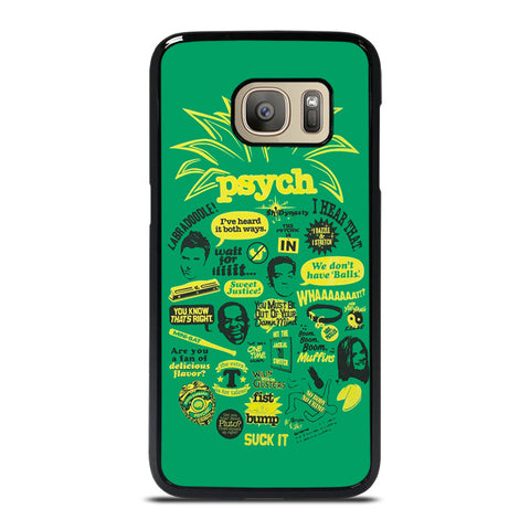 PSYCH LOGO Samsung Galaxy S7 Case Cover