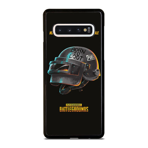 PUBG PLAYERUNKNOWN'S HELMET Samsung Galaxy S10 Case Cover
