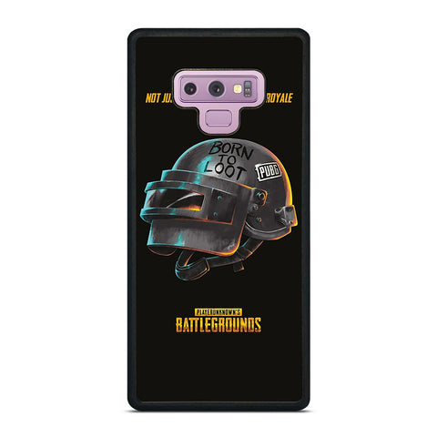PUBG PLAYERUNKNOWN'S HELMET Samsung Galaxy Note 9 Case Cover