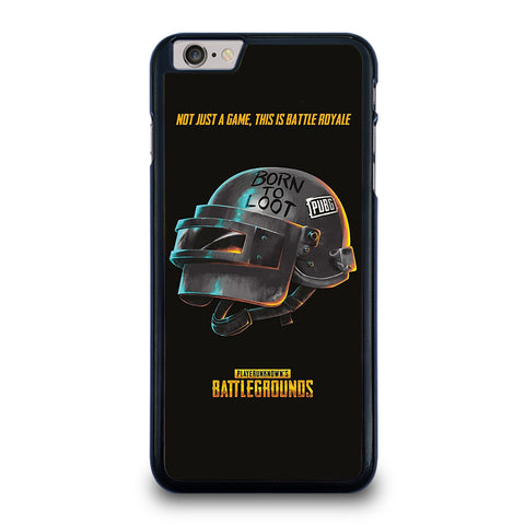 PUBG PLAYERUNKNOWN'S HELMET iPhone 6 / 6S Plus Case Cover
