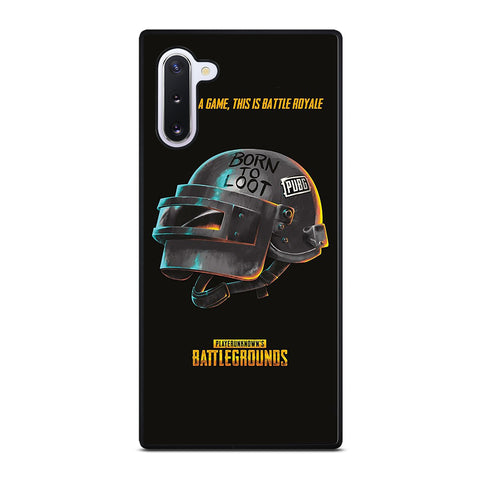 PUBG PLAYERUNKNOWN'S HELMET Samsung Galaxy Note 10 Case Cover