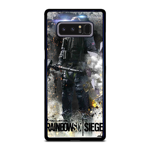 RAINBOW SIX SIEGE GAME Samsung Galaxy Note 8 Case Cover