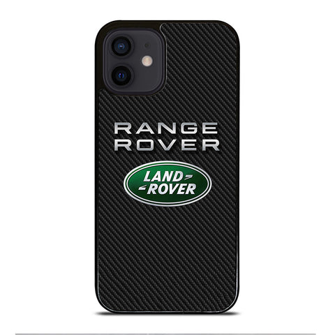RANGE ROVER LAND ROVER CARBON iPhone 12 Mini Case Cover