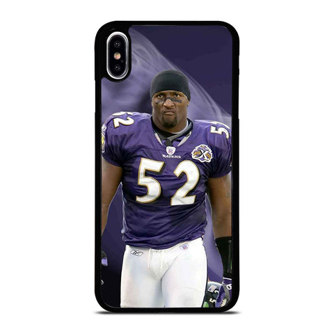 RAY LEWIS BALTIMORE RAVENS NFL 2 iPhone XS Max Case Cover