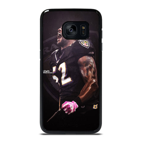 RAY LEWIS BALTIMORE RAVENS NFL Samsung Galaxy S7 Edge Case Cover