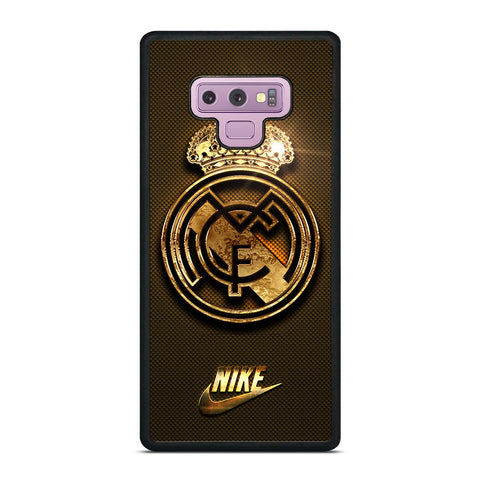 REAL MADRID GOLD LOGO Samsung Galaxy Note 9 Case Cover