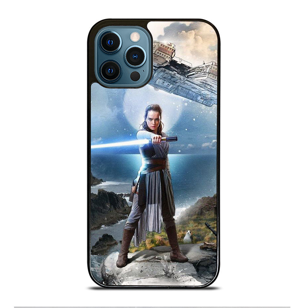 REY STAR WARS THE LAST OF JEDI iPhone 12 Pro Max Case Cover - Casesummer