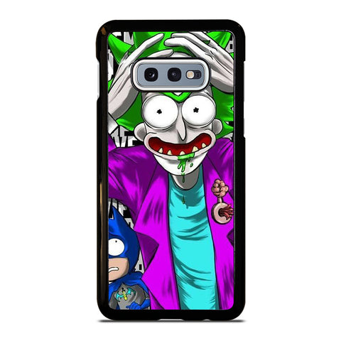 RICK AND MORTY BATMAN JOKER Samsung Galaxy S10e Case Cover