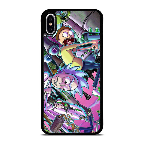 RICK AND MORTY CARTOON iPhone XS Max Case Cover
