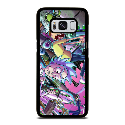 RICK AND MORTY CARTOON Samsung Galaxy S8 Case Cover