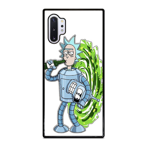 RICK AND MORTY FUTURAMA Samsung Galaxy Note 10 Plus Case Cover