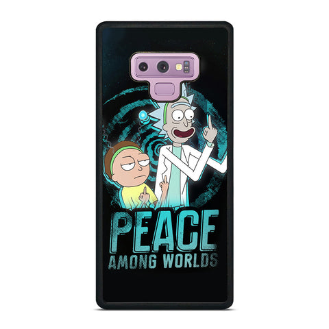 RICK AND MORTY PEACE AMONG WORLDS Samsung Galaxy Note 9 Case Cover