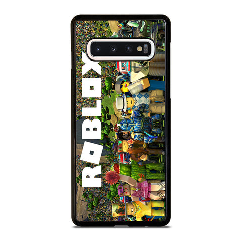 ROBLOX GAME ALL CHARACTER Samsung Galaxy S10 Case Cover