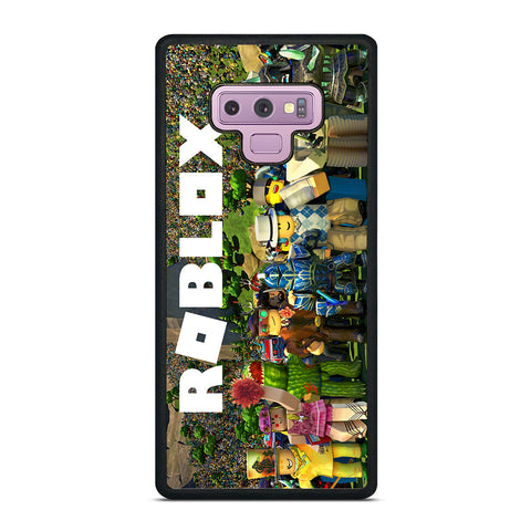 ROBLOX GAME ALL CHARACTER Samsung Galaxy Note 9 Case Cover