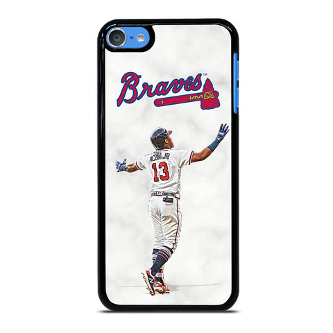 RONALD ACUNA JR MARBLE ATLANTA BRAVES iPod Touch 7 Case
