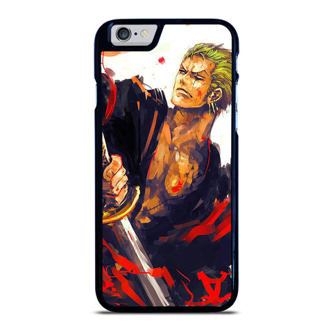 RORONOA ZORO ONE PIECE ART iPhone 6 / 6S Case Cover